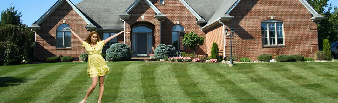 Lawn Care Services&#8230;<br />We&#8217;ll Give You a Lawn to be Proud Of