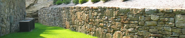 Landscape Installation - Retaining Walls