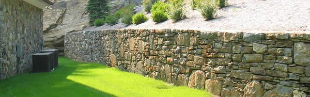 Retaining wall installation - Chappaqua NY
